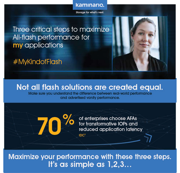 Three critical steps to maximize All-flash performance